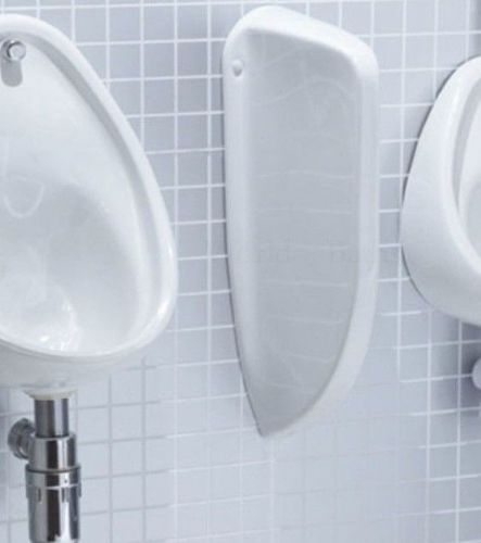 Urinal Divider / Separator / Partition - White